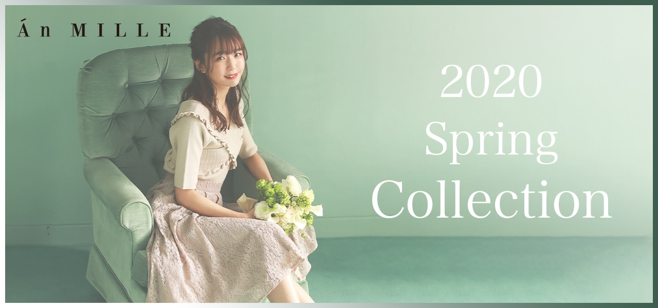 2020Spring Collection♪モデルは宮崎由加さん♪
