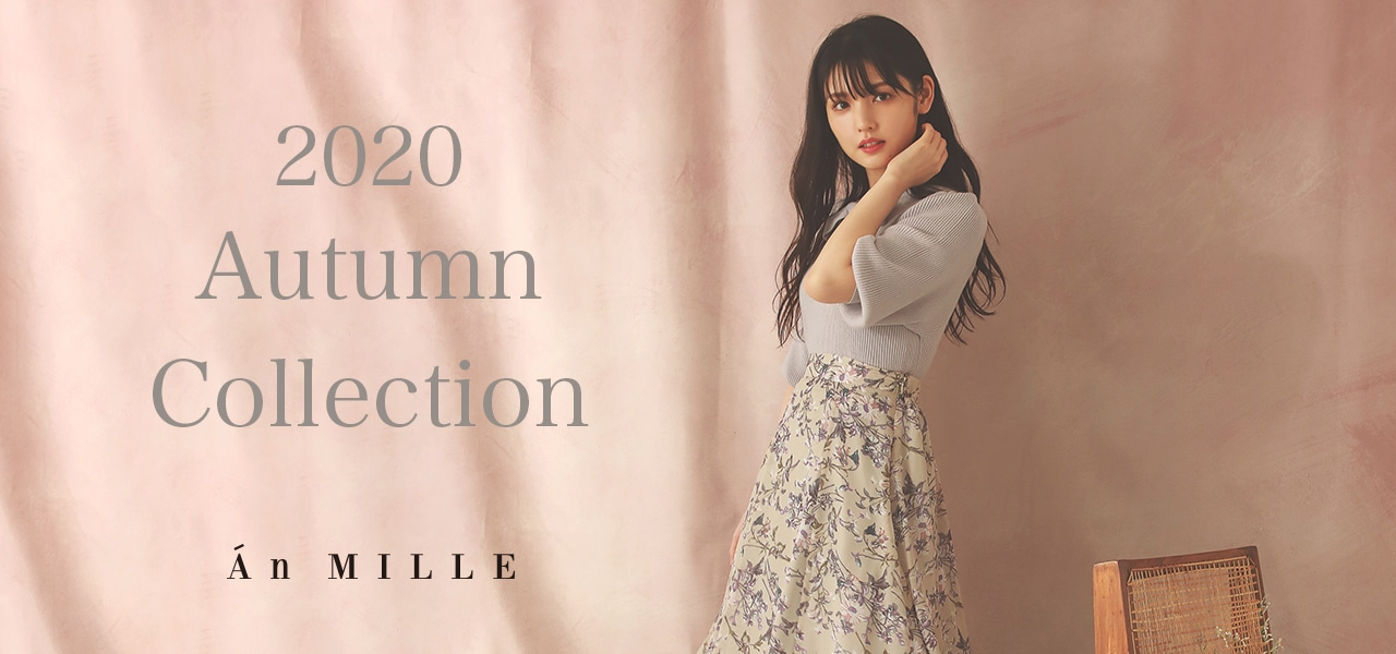 An MILLE 2020 AUTUMN COLLECTION