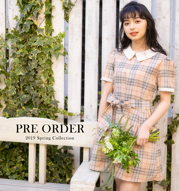 PRE ORDER 2019 Spring Collection